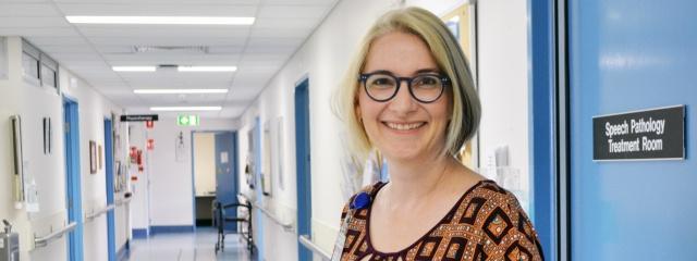 Director of Speech Pathology Ann Edwards