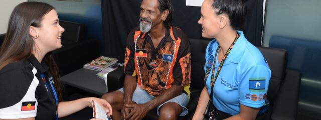 Aboriginal and Torres Strait Islander Unit and patient
