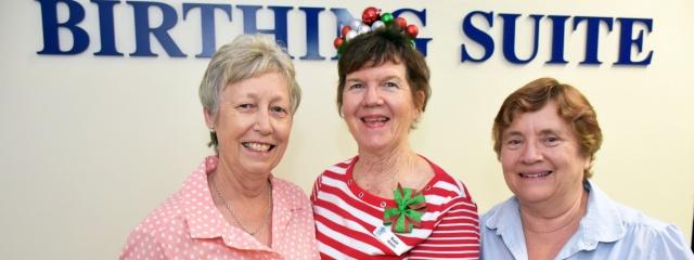Logan Midwives bid Birthing Suite farewell