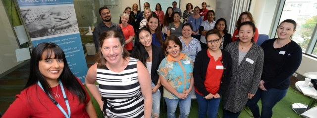 CARE-PACT training with Aged Care nurses
