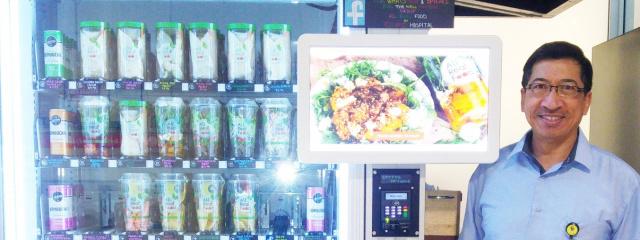 Self Service cafe providing delicious healthy meals