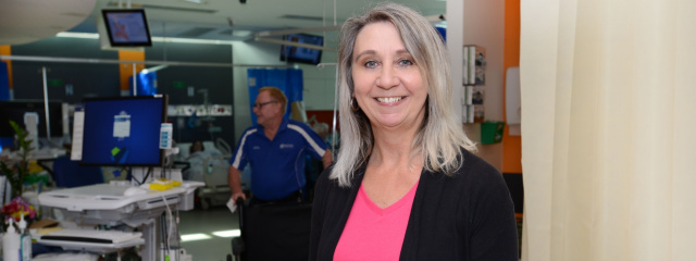QEII Hospital dementia nurse navigator