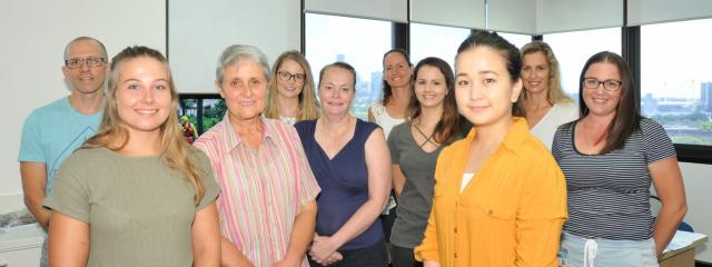 The highly-trained nurses from Princess Alexandra Hospital, QEII Hospital and Logan Hospital, releive Townsville nurses
