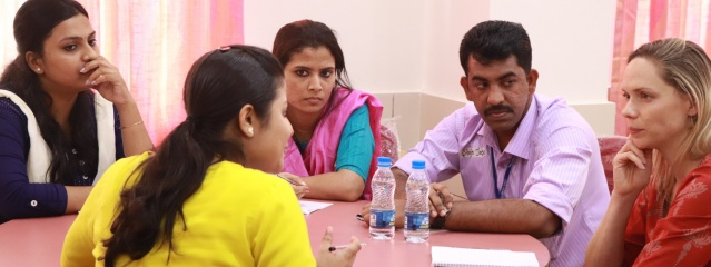 PAH social workers take skills to India
