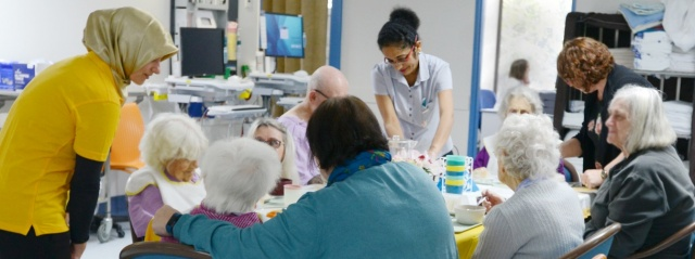 Social seniors at QEII Hospital