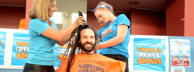 Knee-length dreads go in World's Greatest Shave - PAH news