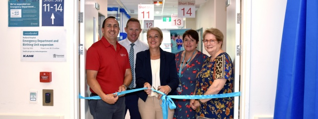 Redland ED expansion opening
