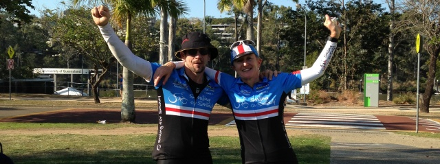 Ride for skin cancer research PAH