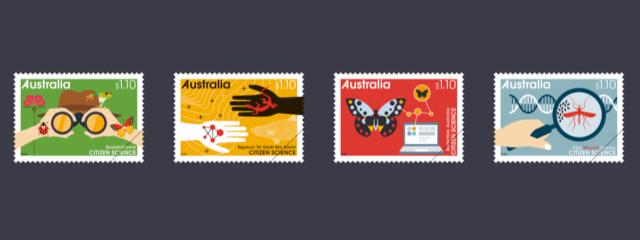 Australia Post Citizen Science stamps