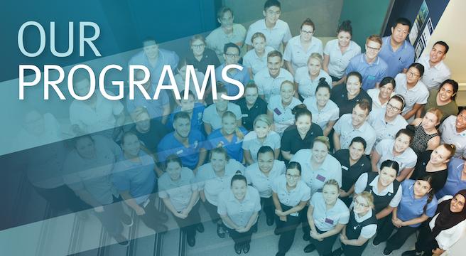 Graduate Program - Our Programs slider