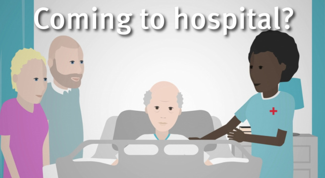 Patient welcome video