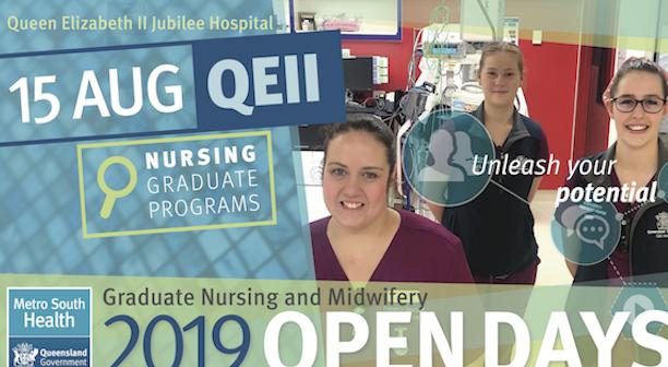 2019 Graduate Nursing and Midwifery Open Days