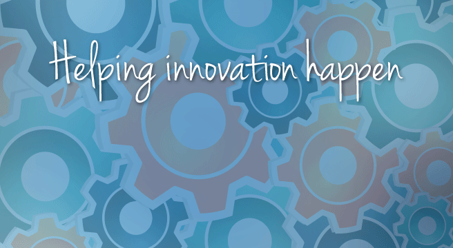 Helping innovation happen