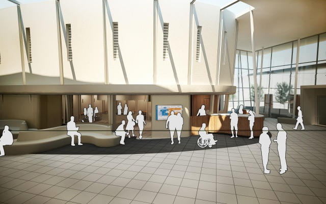 Foyer Home Insurance : Pah foyer redevelopment stage schematic design image g