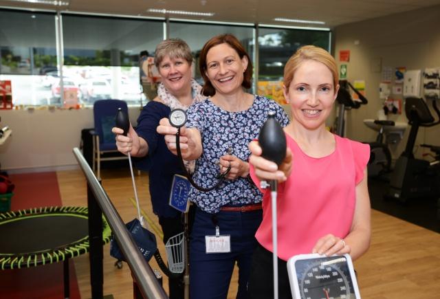 Chronic Disease team offering free heart checks