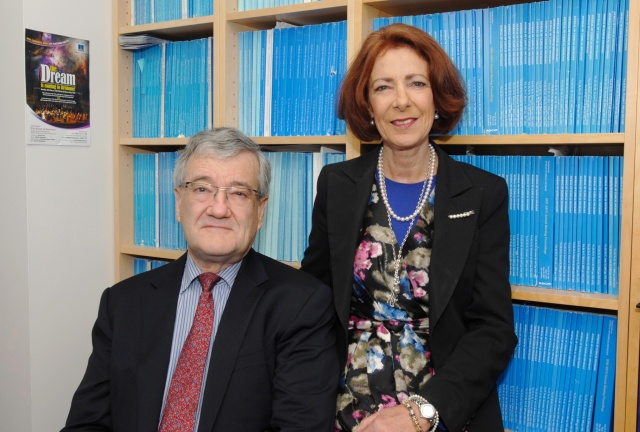 Associate Professor Damien Thomson and wife Dr Glenise Berry