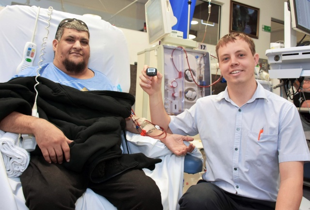 Pedometers get renal patients moving in right direction