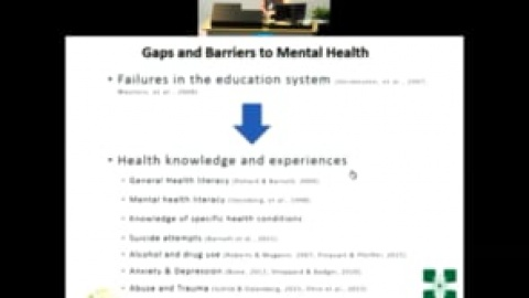 2018 Addiction and Mental Health Research Symposium presentation: Danielle Ferndale