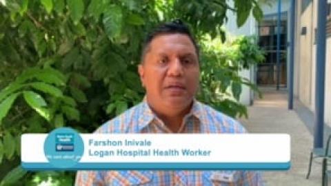 Measles alert in Logan - Samoan community health worker Farson Inivale