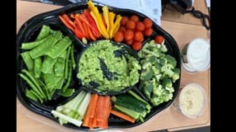 Steps challenge Fruit and vegetables