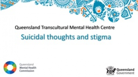 Suicidal thoughts and stigma