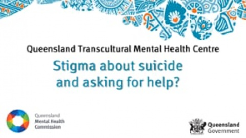 Stigma about suicide and asking for help - Maria