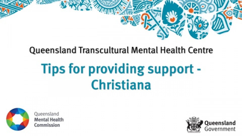 Tips for providing support - Christiana