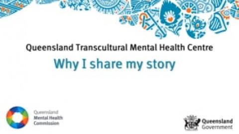 Why I share my story - Maria