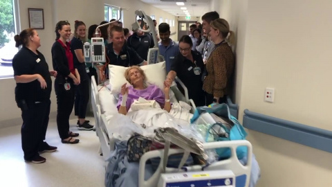 Logan Hospital's New Medical Ward - First Patient