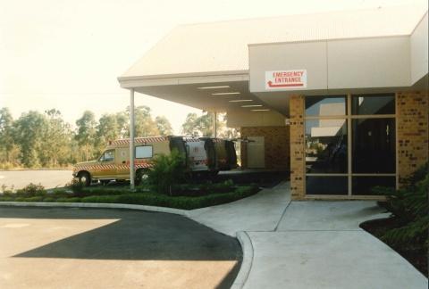 1990 - Emergency Department entrance