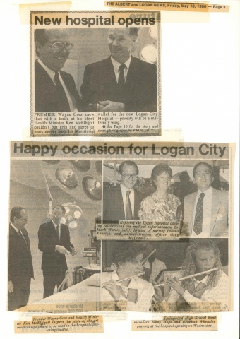 1990 - Happy occasion for Logan City