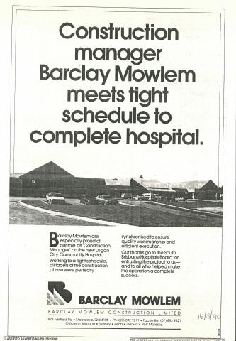 1990 - Builder advertisement