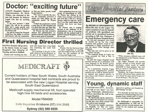 1990 - Exciting future for staff