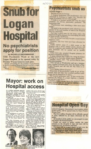 1990 - Hospital open day