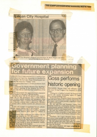 1990 - Government planning for future expansion