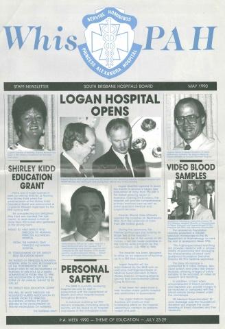 1990 - PA Hospital newsletter
