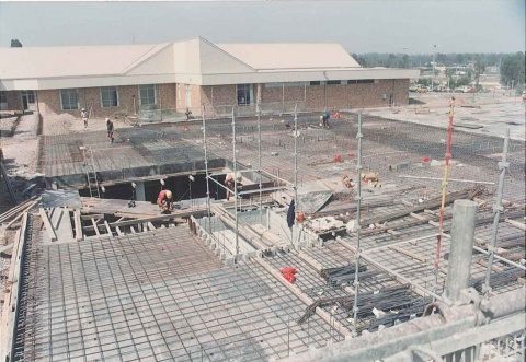 1991 - Stage Two construction