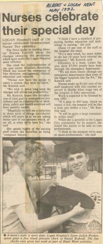 1992 - International Nurses Day