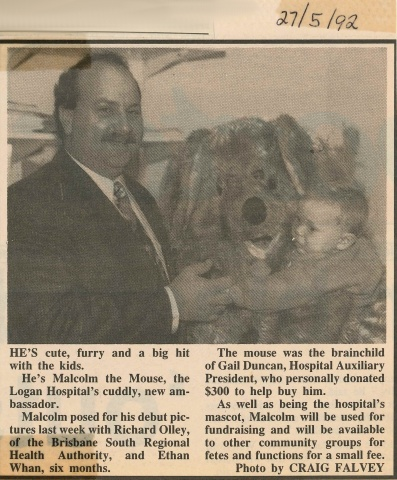 1992 - Logan Hospital ambassador