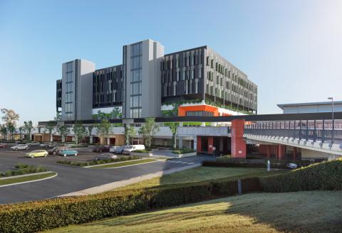 Artists impression - Logan Hospital Expansion Project