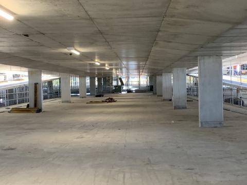 Multilevel Car Park progress photo - May 2021