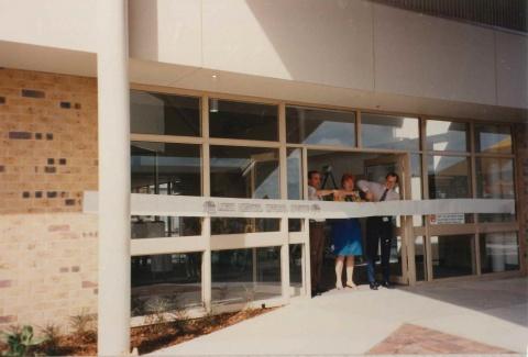 16 May 1990 - Logan Hospital official opening