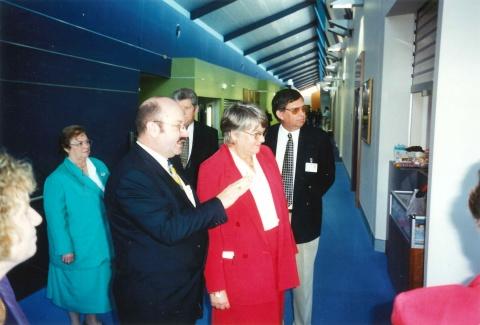 2000 - Opening of 'Hospital Street'
