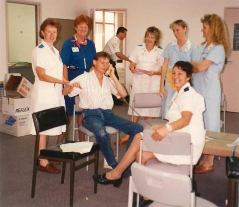 Logan Hospital staff