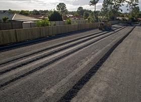 April: Final trim gravel base
