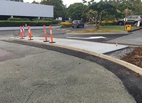 May: More traffic island boom gates