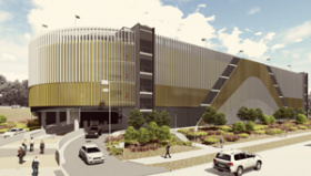 Redland Hospital Multi-level Car Park artist's impression
