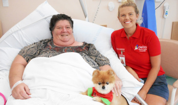 Penny puts patients at ease at Beaudesert Hospital
