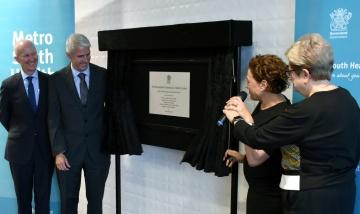 Woolloongabba Community Health Centre - plaque unveiling