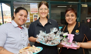 Bake sale boost for 3B patients